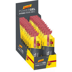 PowerBar PowerGel Hydro Caja 24 x 67ml, Cherry with Caffeine